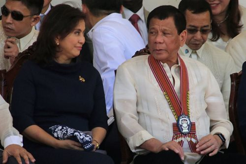 Duterte dinner invite to Robredo a 'trap' - Trillanes