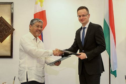 PH, Hungary strengthen bilateral ties