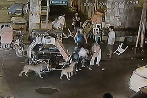 HULI SA CCTV: Babaeng napagkamalang kabit, ginulpi