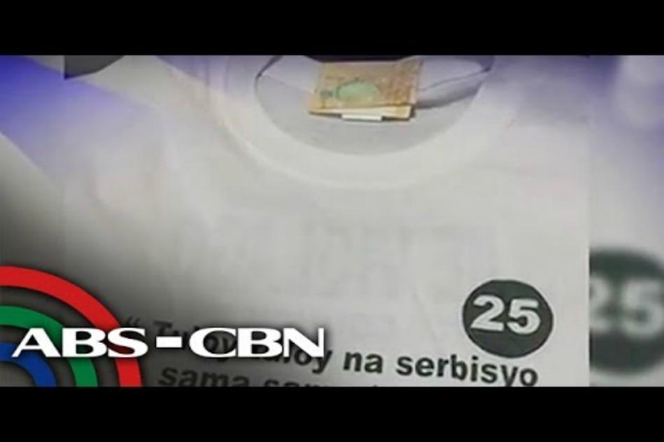 TINGNAN: Ipinamimigay na t-shirt sa kampanya, may P500