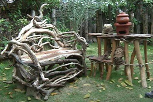LOOK: Fireman in Iloilo crafts furniture from fallen trees, scrap wood