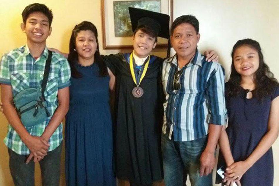 Son of truck driver graduates summa cum laude in Negros