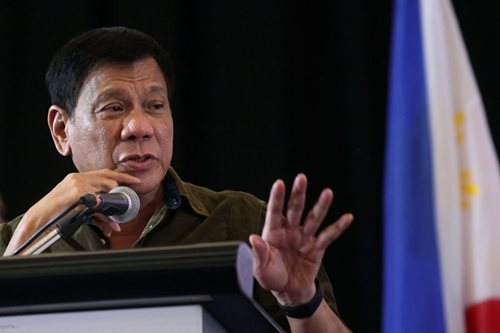 Duterte to Reds: Can we just stop fighting for a while?