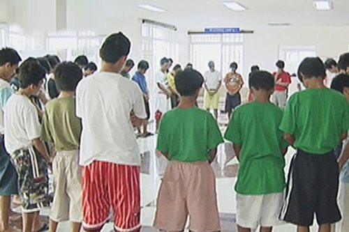 Despite lacking facilities, minors in conflict with the law undergoing rehab