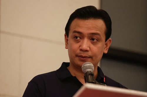 Trillanes denies bribing Davaoeña to lie about Duterte