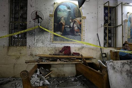 Palm Sunday bombings of Egyptian Coptic churches kill 44