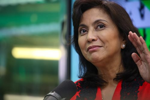 Leni to graduates: Take leap of faith when necessary