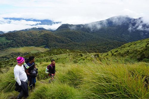 Fewer trekkers brave Mt. Apo amid stricter policies