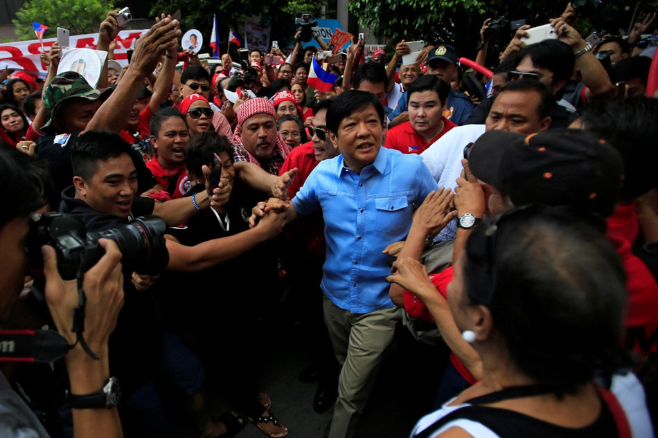 Marcos pays P36 million for poll protest