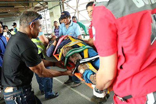 Construction worker electrocuted in Baguio City overpass