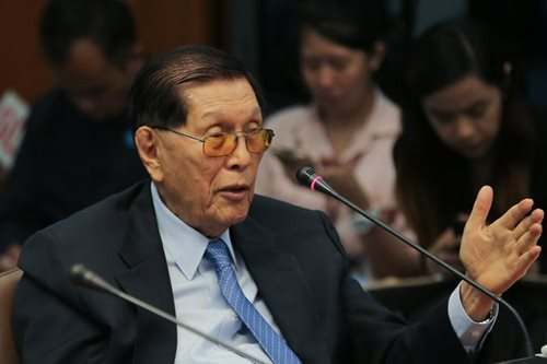Oops! 'Businesswoman' Enrile running for senator