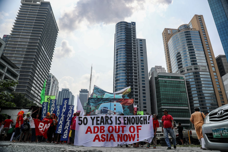Urban poor groups criticize ADB