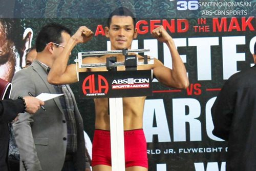 Arthur Villanueva talo sa title eliminator bout sa UK