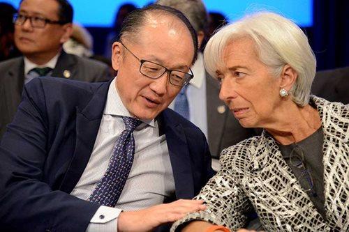 IMF members set aside trade split as French vote rattles nerves