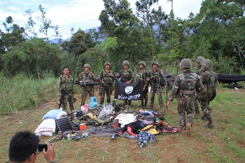 Foreigner's remains found in Maute lair in Lanao del Sur