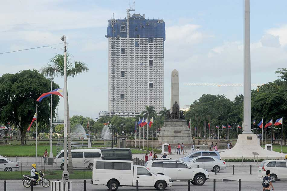 SC lifts TRO vs. Torre de Manila's construction