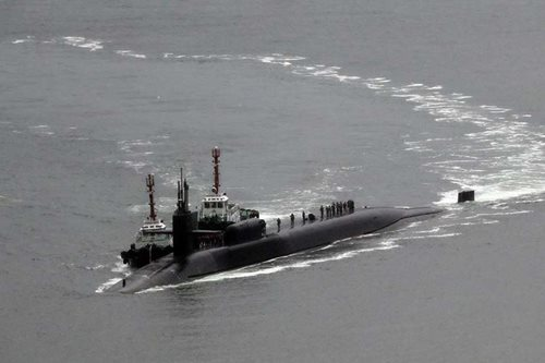 LOOK: US submarine makes port call in S. Korea