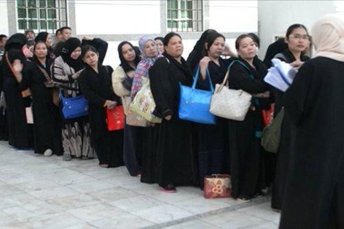 Higit 300 na undocumented Pinoy, dinala sa Jeddah