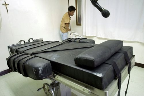 Death penalty revival dropped from priority bills