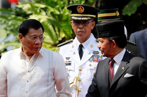 Duterte reaffirms PH-Brunei ties at Bolkiah golden jubilee