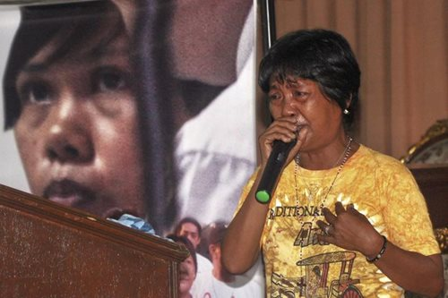 Celia Veloso backtracks on support for death penalty