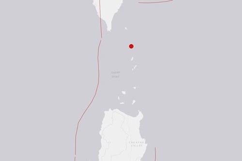 USGS: Magnitude 5.4 quake jolts Batanes