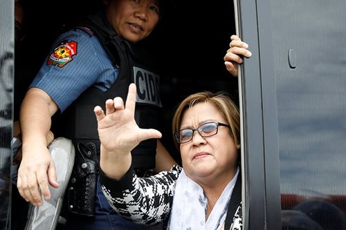 Stray cats, killers and no regrets: De Lima on life in jail