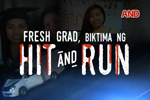Fresh grad, biktima ng hit-and-run