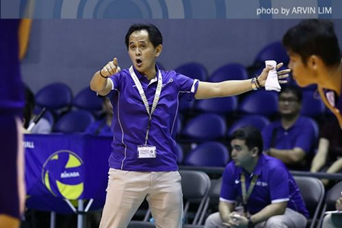 UAAP volleyball: Oliver Almadro embraces new challenge with Lady Eagles