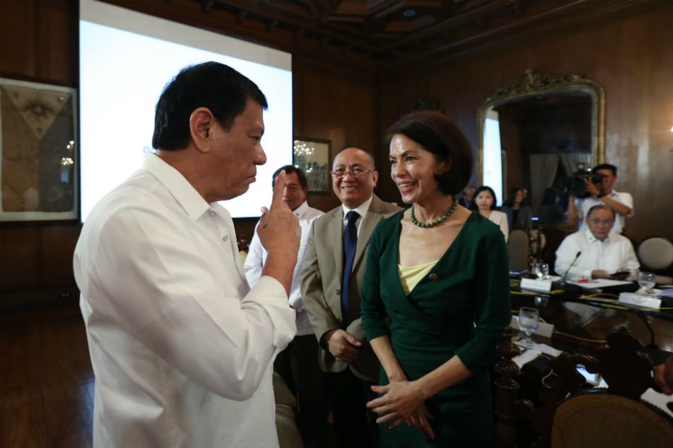 Duterte regrets Lopez' rejection as DENR secretary