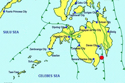 Magnitude 4 quake jolts Davao Occidental