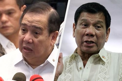 Duterte calls Gordon PH's next president