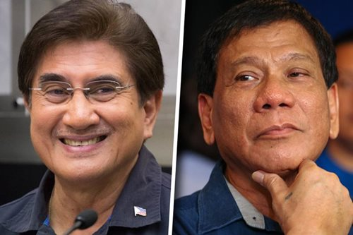 Duterte: I harbored fugitive Honasan