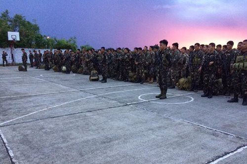84 soldiers back to base after fighting Abus in Bohol