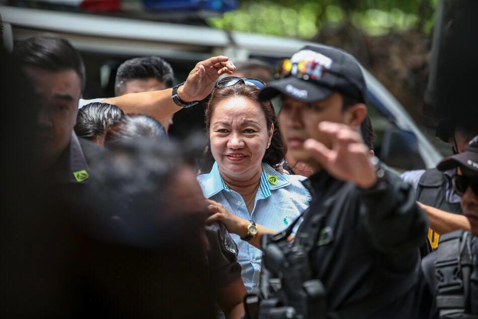 Sandigan denies Napoles' transfer to witness protection custody 1