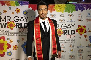 Pinoy wins Mr. Gay World 2017