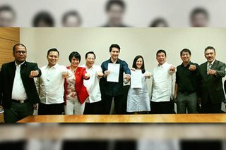 Belmonte's daughter, Sotto's son bolt LP for PDP-Laban