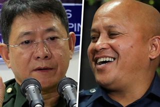 Dela Rosa 'very happy' with Año as next DILG chief