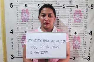 Inmate's girlfriend arrested in drug buy-bust