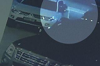 Basag-kotse, huli sa CCTV