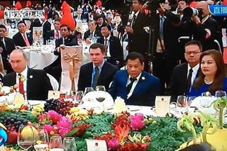 LOOK: Duterte, Putin attend gala dinner in Beijing