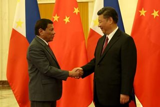 Duterte tells China's Xi: Let's keep communication lines open