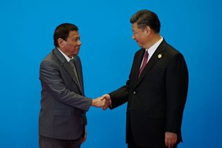 China shrugs off Duterte's claim that Xi threatened war