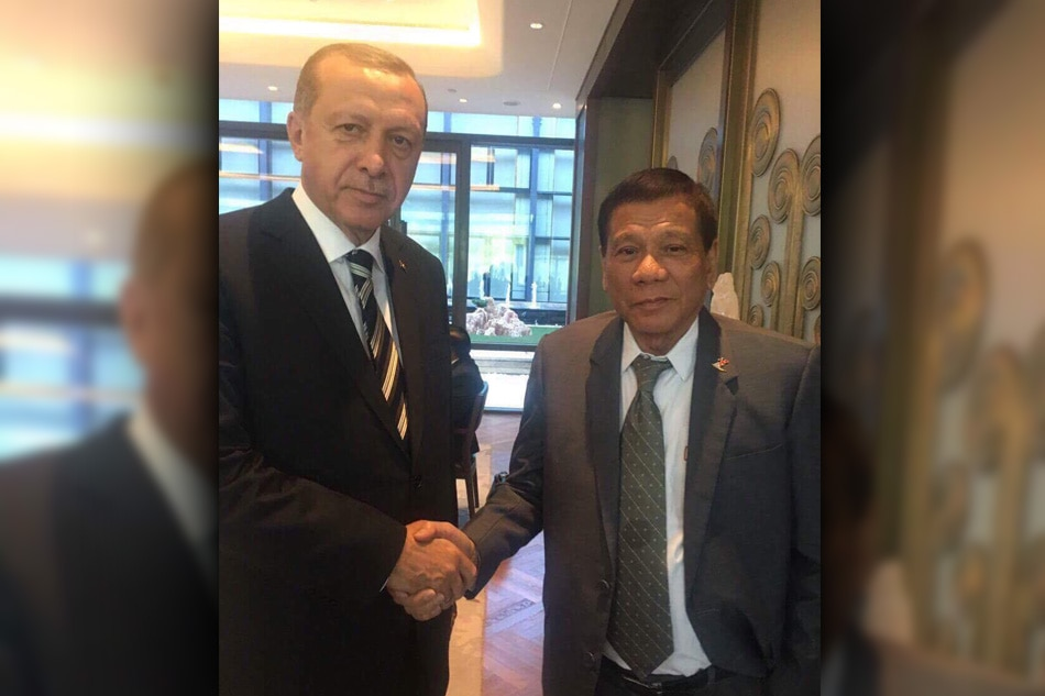 LOOK: Duterte meets Turkish President Erdogan 1