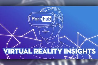 Pornhub: Virtual reality porn popular among Filipinos
