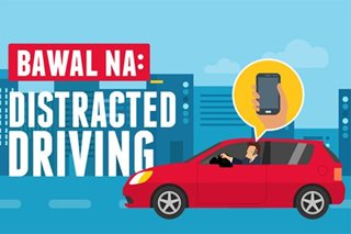 ALAMIN: Mga bawal sa Anti-Distracted Driving Act