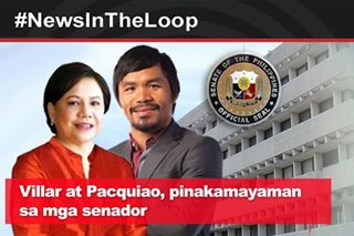 In the Loop: Villar at Pacquiao, pinakamayaman sa mga senador