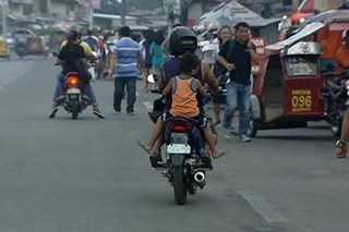 Children's Safety on Motorcycles Act, mahigpit nang ipatutupad