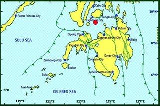 Magnitude 5.6 quake hits Bohol