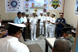 Newly formed Joint Task Group Boracay holds simulation exercise